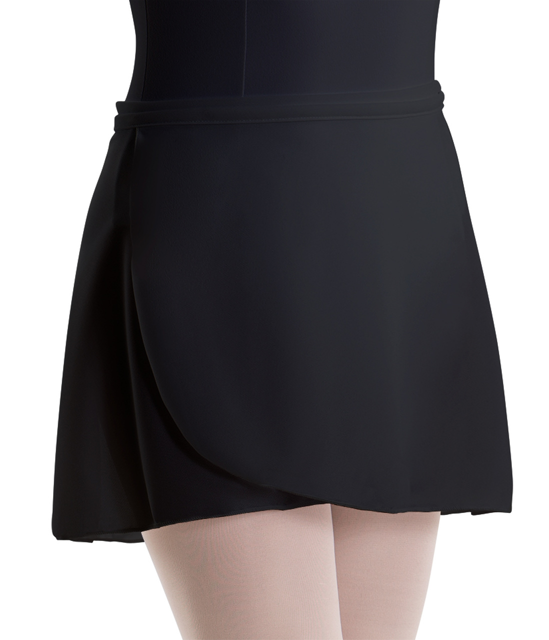 MOTIONWEAR WRAP TIE SHORT SKIRT (1021)