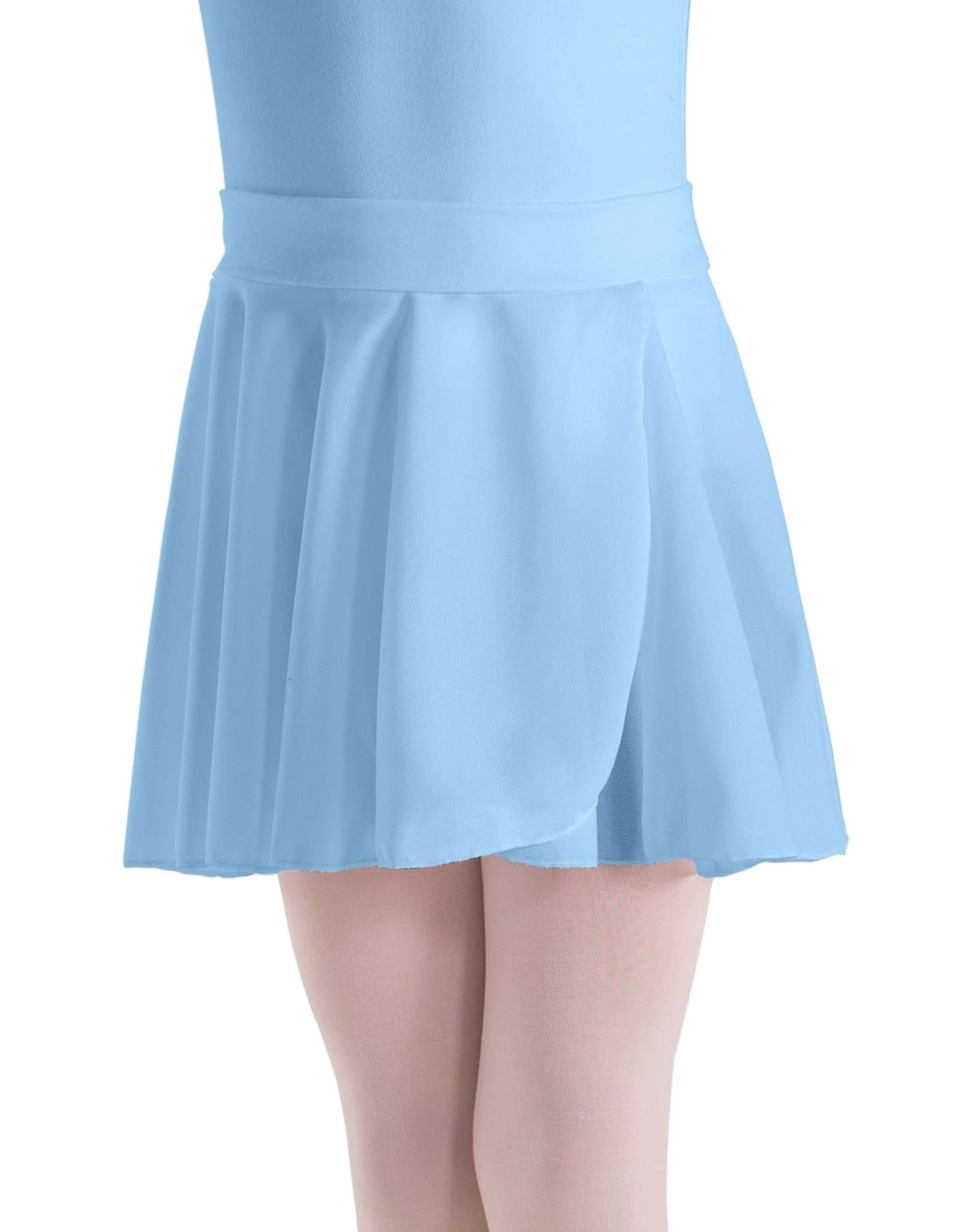 MOTIONWEAR PULL-ON CREPE SKIRT COTTON WAISTBAND (1011C)