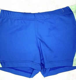 SO DANCA SHORTS WITH STRIPE DOWN SIDE (L-859)
