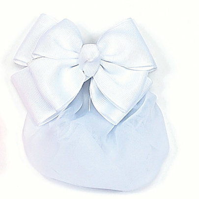 DASHA DESIGNS GROSGRAIN BOW SNOOD (4022)
