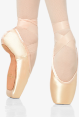 GAYNOR MINDEN SCULPTED FIT FEATHERFLEX SHANK LOW VAMP HIGH HEEL POINTE SHOES