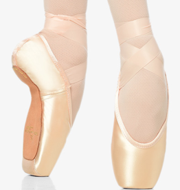 GAYNOR MINDEN SCULPTED FIT FEATHERFLEX SHANK DEEP VAMP HIGH HEEL POINTE SHOES