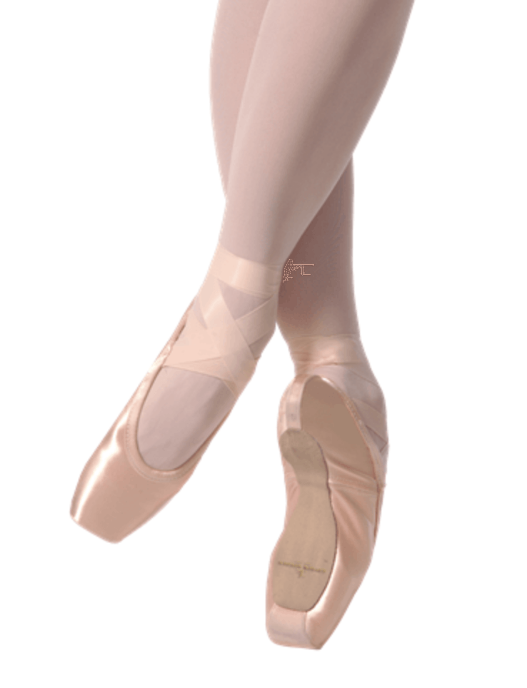 GAYNOR MINDEN SLEEK FIT EXTRAFLEX SHANK HIGH VAMP HIGH HEEL POINTE SHOES