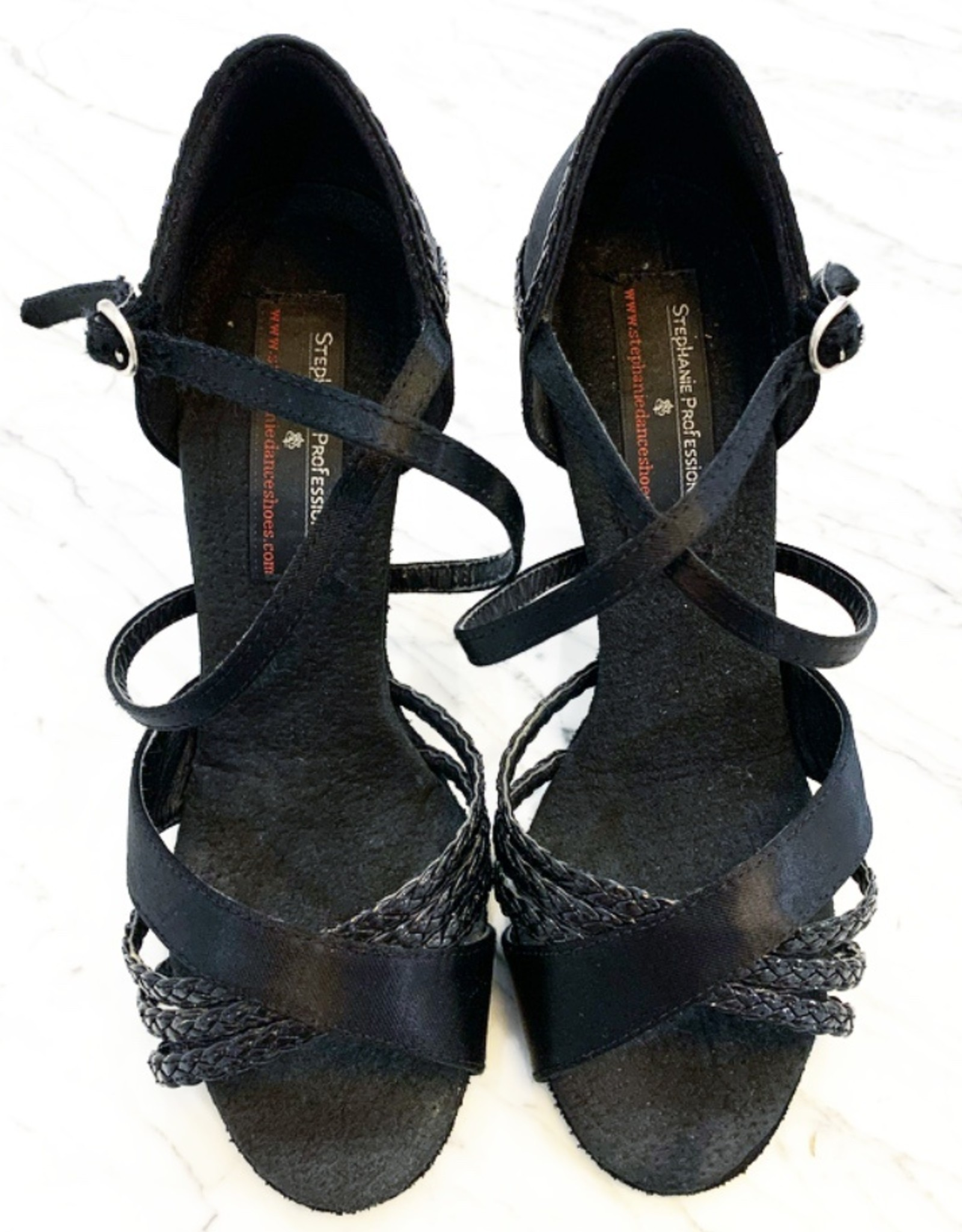 PROFESSIONAL SATIN BALLROOM SHOES (92006)