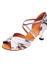 LEATHER AND GLITTER LATIN DANCE SHOES (2083)