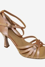 SANSHA ADRIANA SATIN BALLROOM SHOES (BR50)