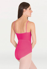 BODY WRAPPERS FLORAL MESH CAMISOLE LEOTARD (P1120)