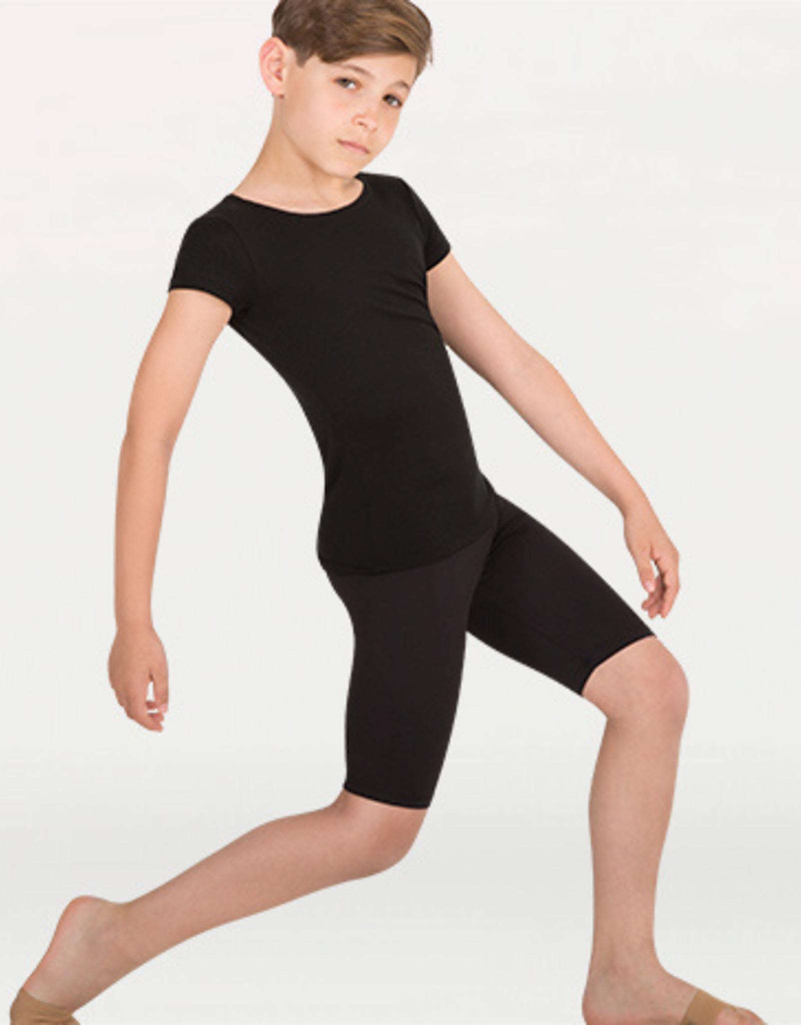 BOYS BALLET SHORT SLEEVE PULLOVER (B400)