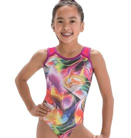 MOTIONWEAR GYM WIDE STRAP X-BACK LEOTARD (1227)