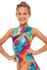 MOTIONWEAR SHOULDER SASH TANK LEOTARD (1513)