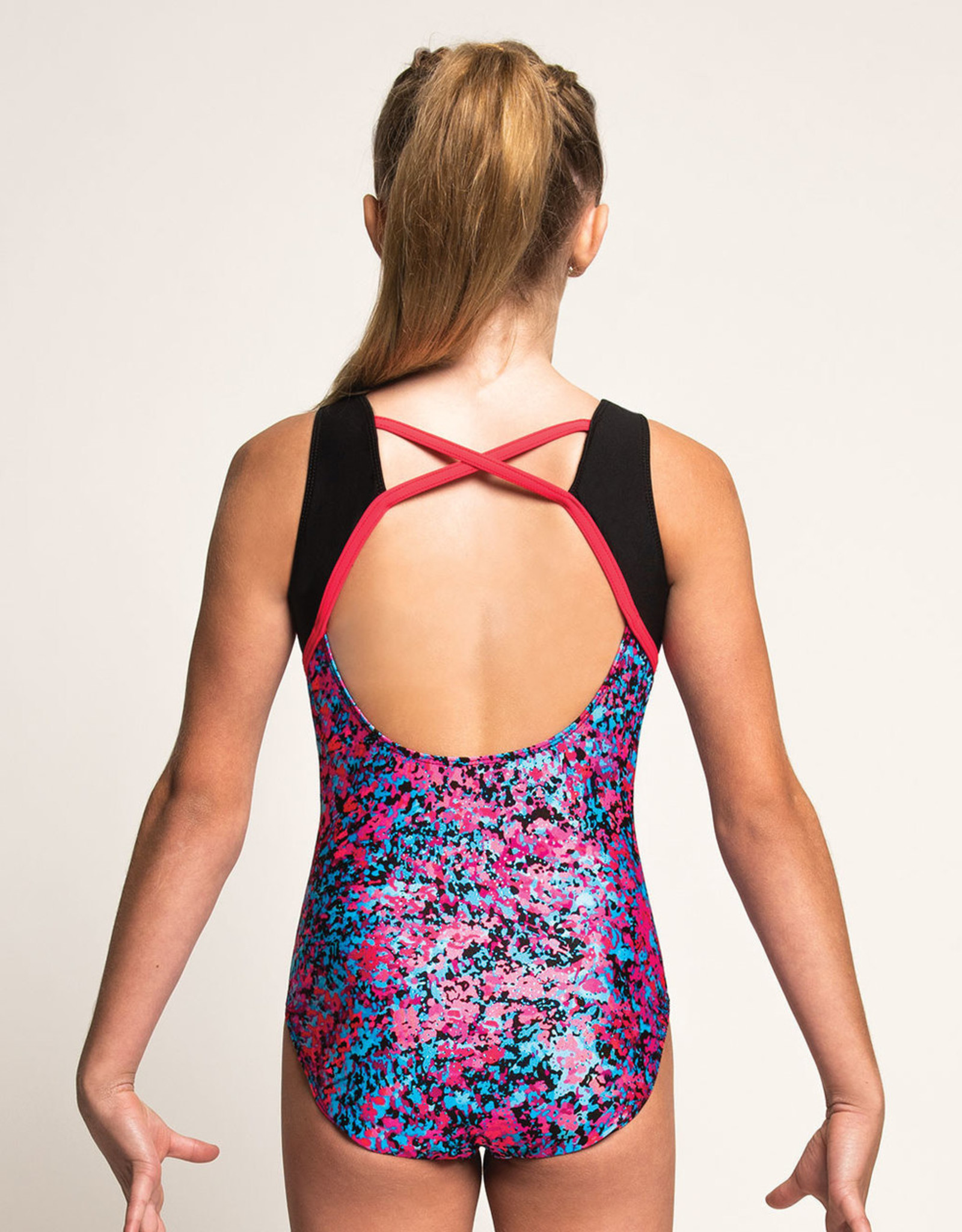 MOTIONWEAR CHILD GYM SWEETHEART LEOTARD (1284)