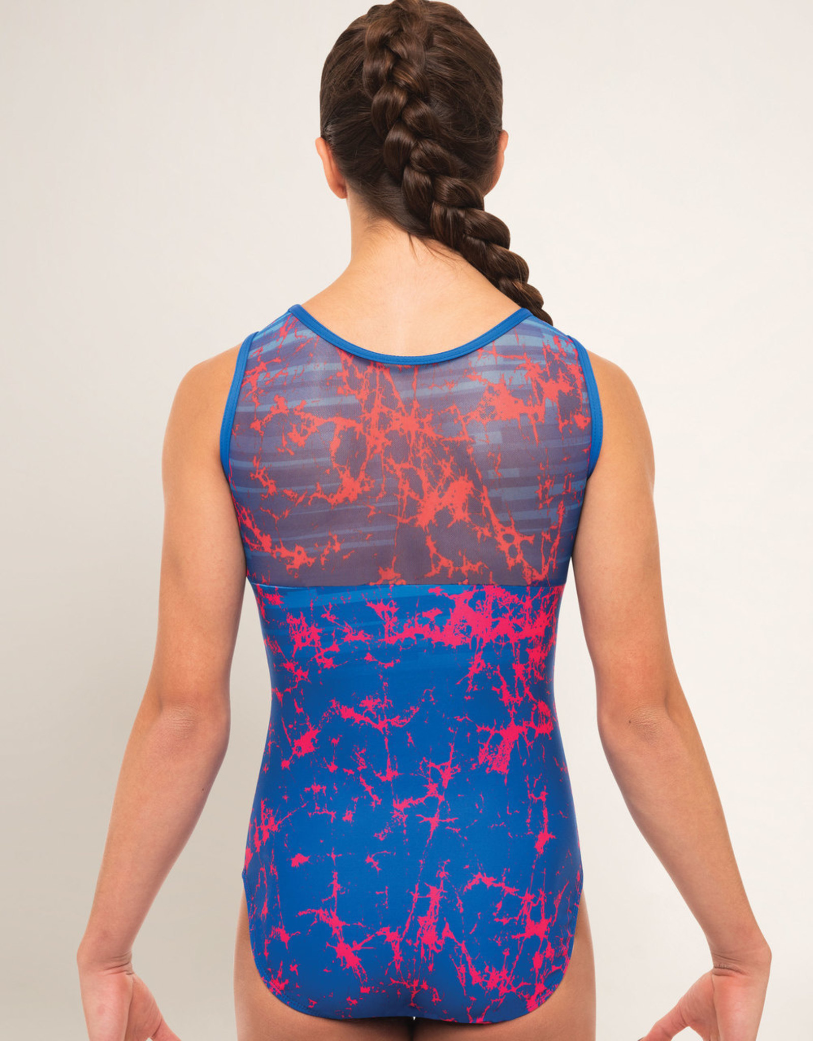 MOTIONWEAR SIGNATURE MESH TOP LEOTARD (1143)