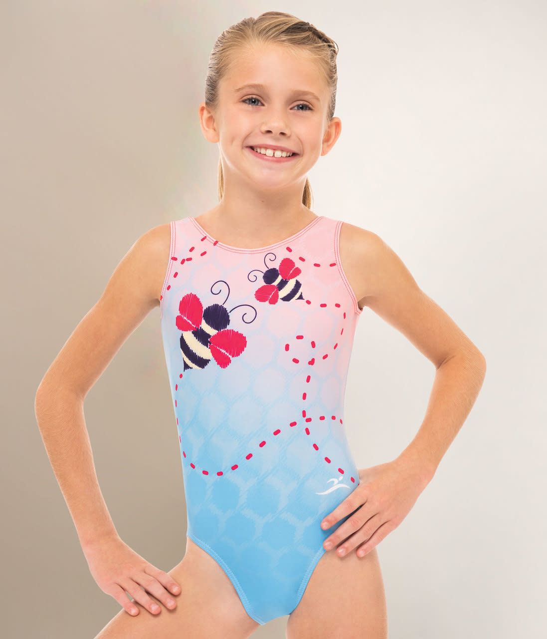 MOTIONWEAR ITTY BITTY BUMBLE BEE GYM LEOTARD (1782)