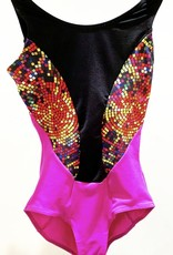 SO DANCA MAIA MAILLOT DE GYMNASTIQUE (L-1475)