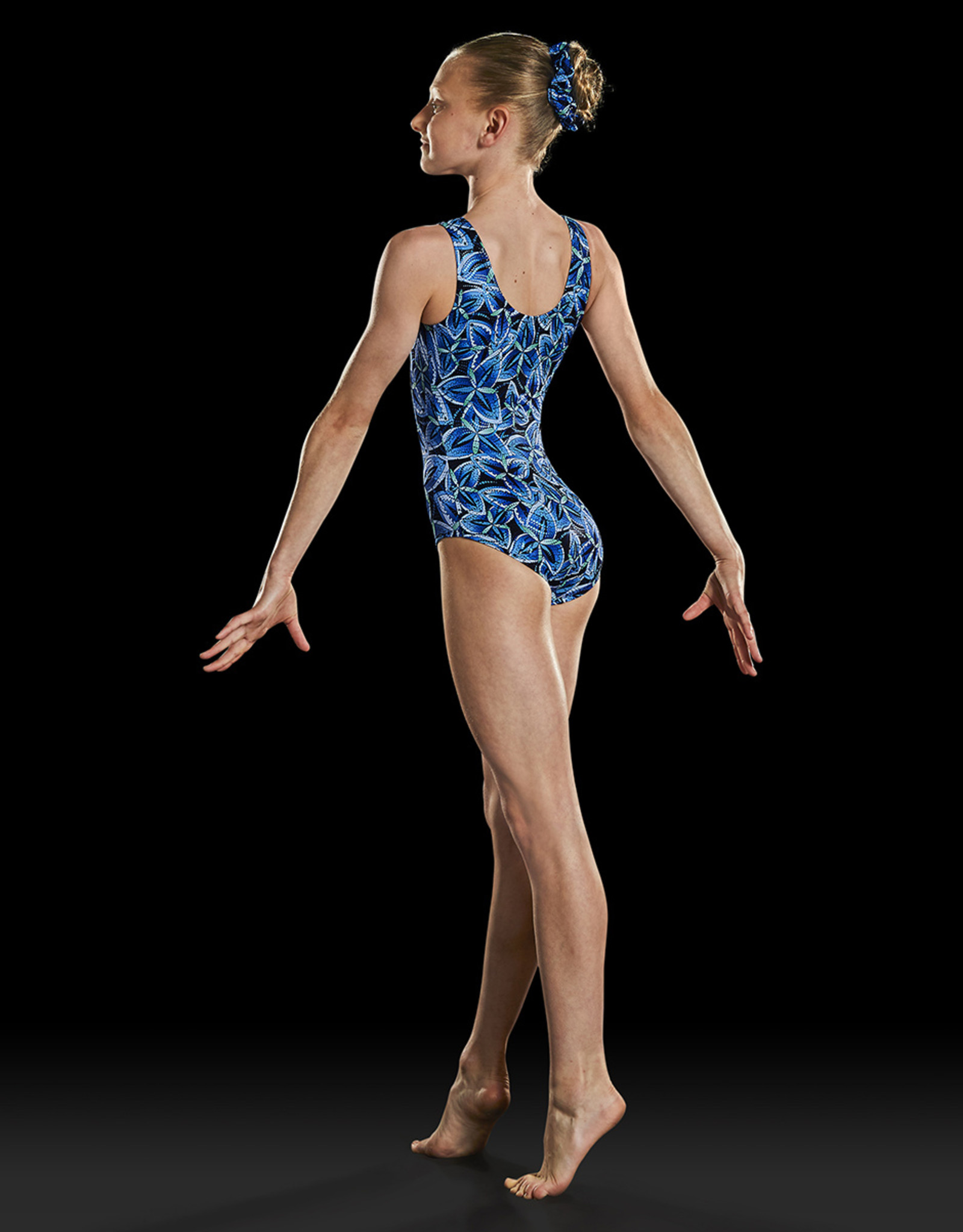 BLOCH PRINT TANK GYM LEOTARD (GB159L)