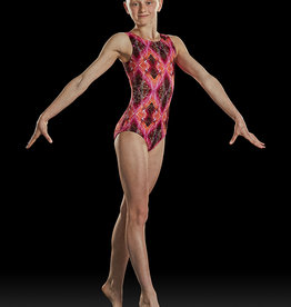 BLOCH PRINT TANK GYM CHILD LEOTARD (GB156C)