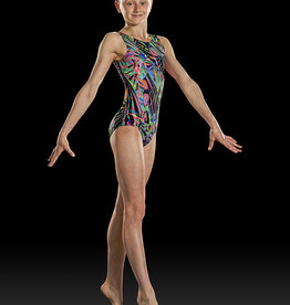 BLOCH PRINT TANK GYM LEOTARD (GB158C)