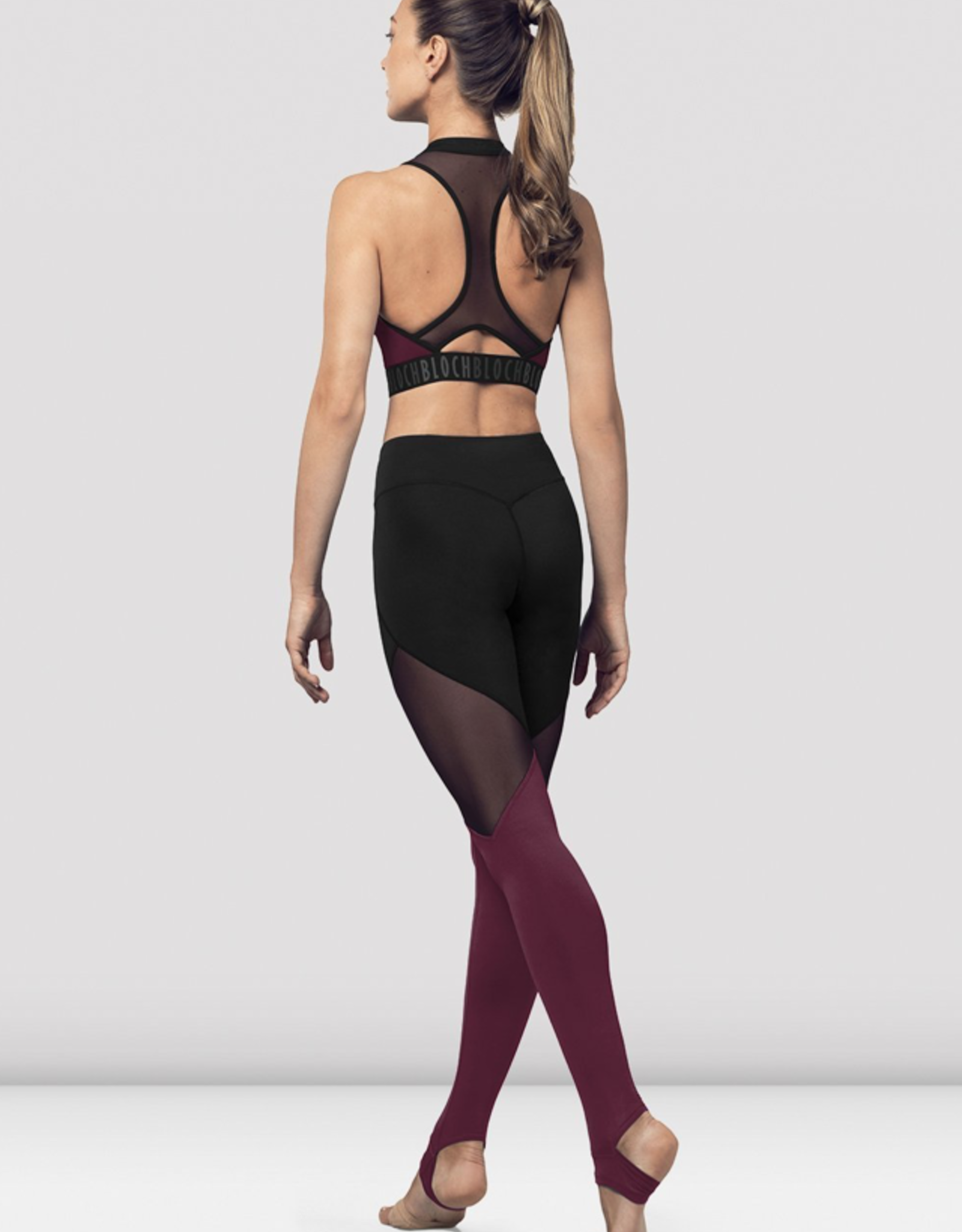BLOCH ADULT FULL LENGHT COLOR LEGGINGS (FP5196)