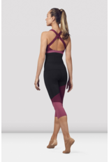 BLOCH ADULT COLOR PANELLED CAPRI LEGGINGS (FP5195)