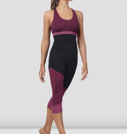 BLOCH ADULT SCOOP NECK CROSS BACK TANK TOP (FT5197)