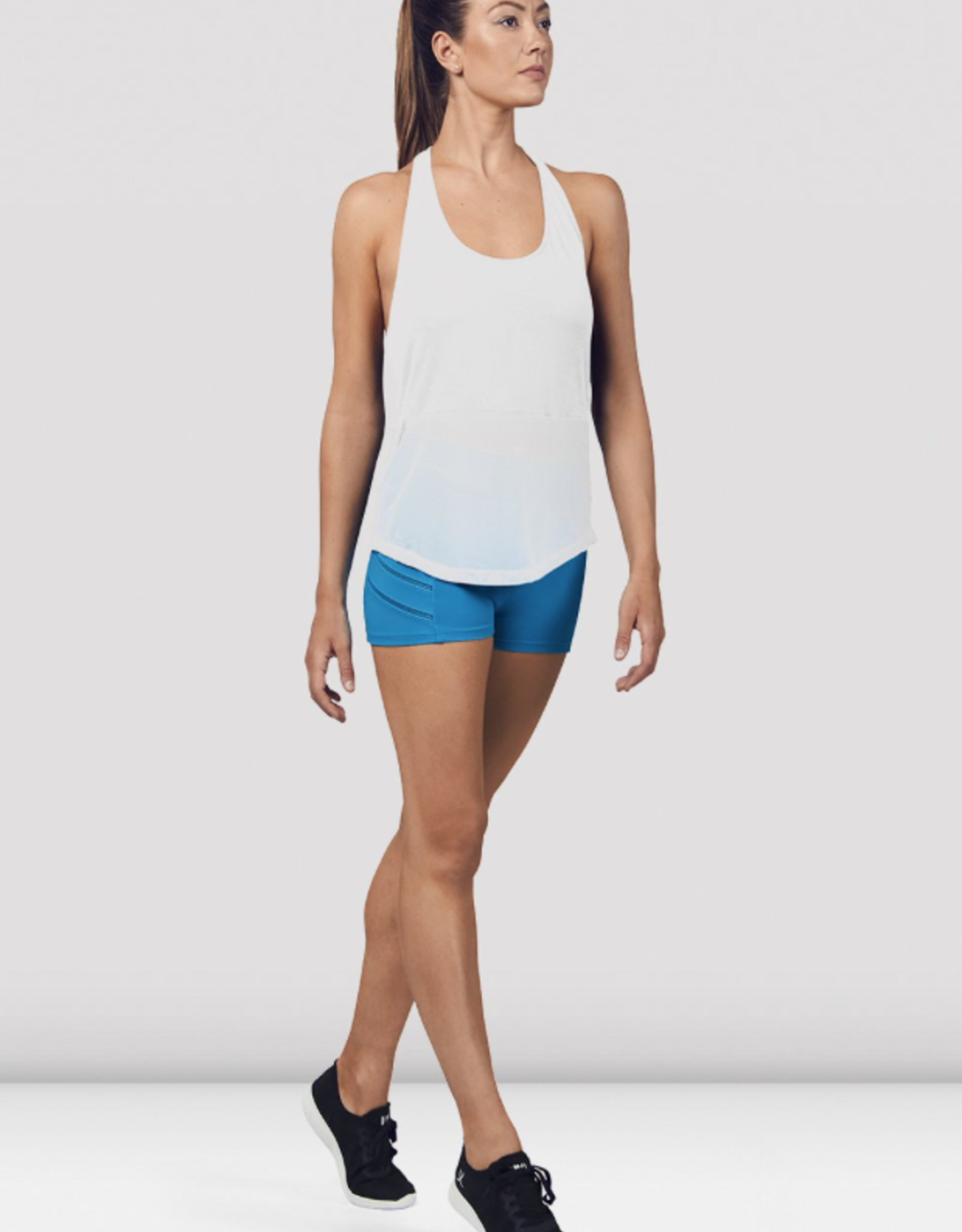 BLOCH MESH DETAIL TANK TOP WITH BLOCH LOGO (FT5205)