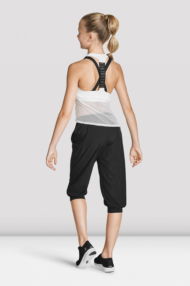 BLOCH CHILD MESH DETAIL TANK TOP WITH BLOCH LOGO (FT5218C)