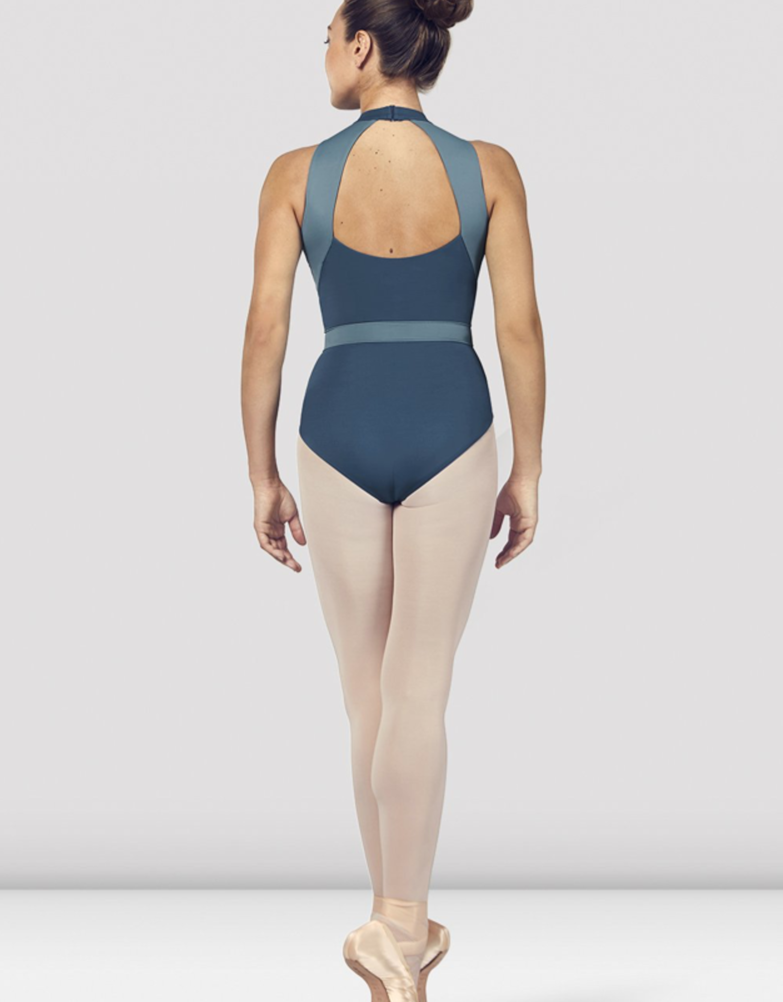 BLOCH ALIA HALTER NECK OPEN BACK TANK LEOTARD (L4965)
