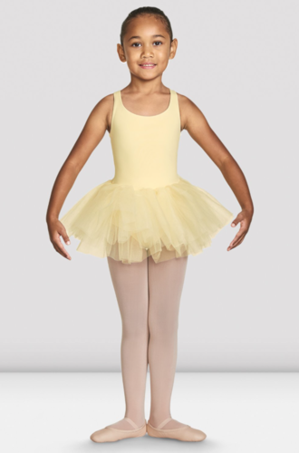 BLOCH CLARA CHILD GELATO BRAID STRAP BACK TUTU LEOTARD (CL7835)