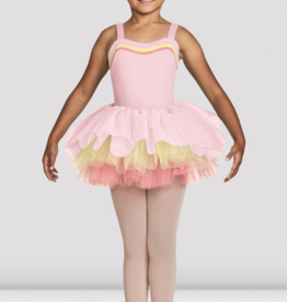 BLOCH LENORA CHILD COLOR CONTRAST TUTU SKIRT (CR8121)