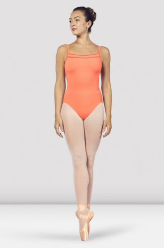 BLOCH DAVINA SCOOP NECKLINE CAMISOLE LEOTARD (L4957)