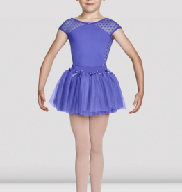 MIRELLA TUTU SKIRT WITH BOW MOTIFS AND WAISTBAND (MS139C)