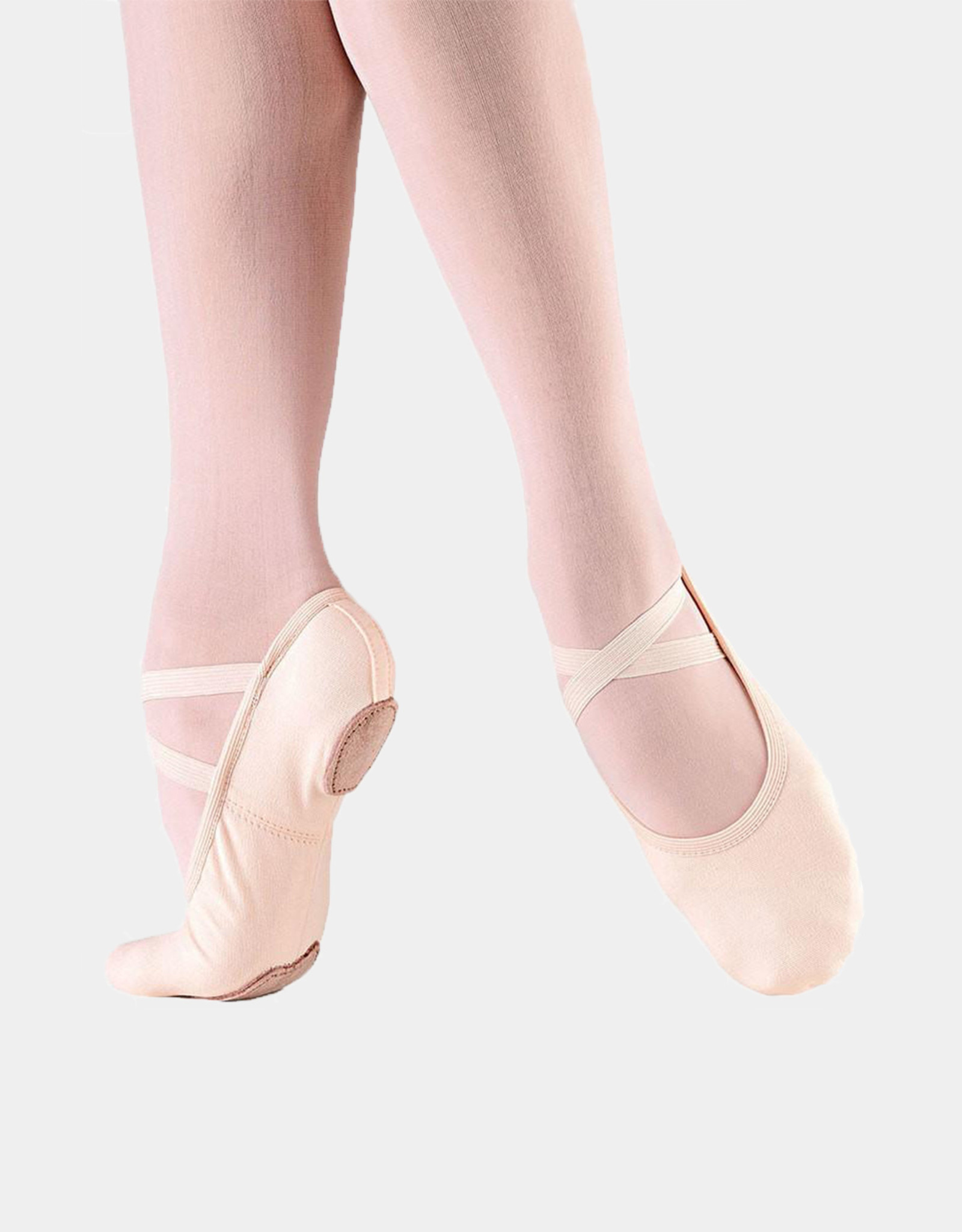 SO DANCA FULLY ELASTICEZ CANVAS SPLIT SOLE BALLET SLIPPERS (SD16)