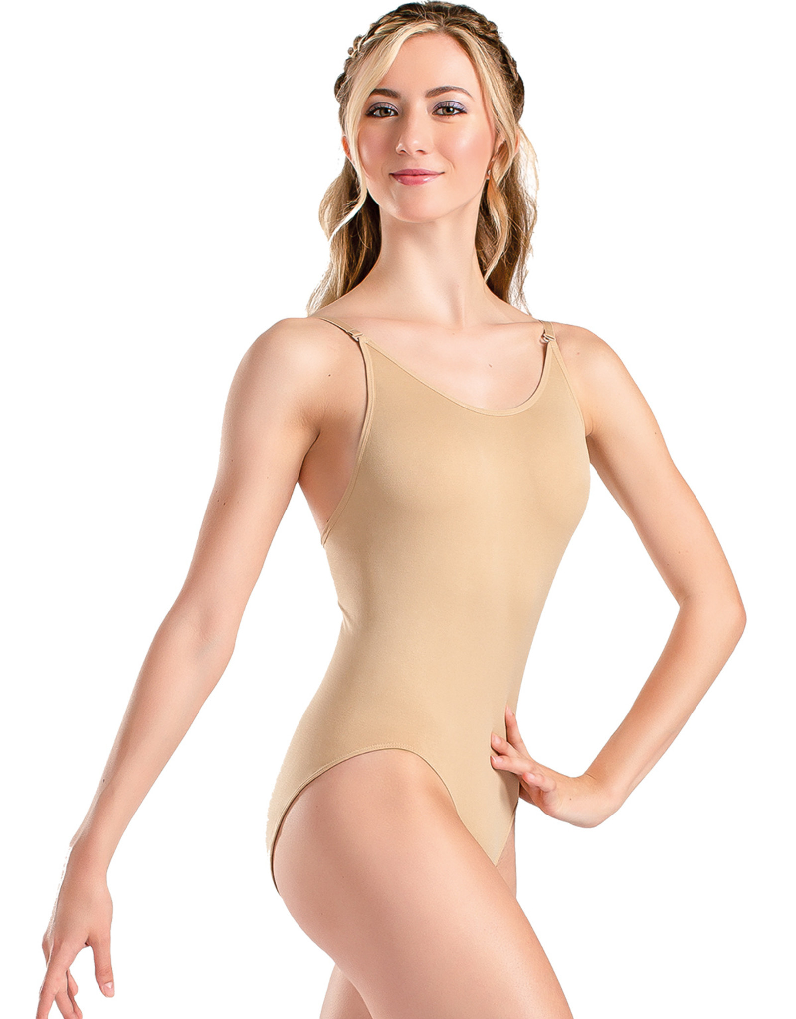 SO DANCA ANTONELLA ADULT BODY LINER WITH ADJUSTABLE STRAPS (UG202)