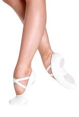 SO DANCA FULLY ELASTICEZ CANVAS SPLIT SOLE BALLET SLIPPERS (SD16)