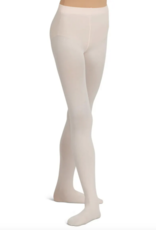 CAPEZIO ULTRA SOFT SELF KNIT WAISTBAND FOOTED TIGHT LIGHT PINK (1915)