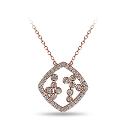 Waterfall Drop Diamond Pendant