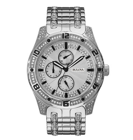 Bulova Bulova 96C106 Mens Crystal Watch