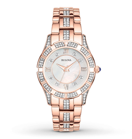 Bulova Bulova 98L197 Women's Crystal Watch