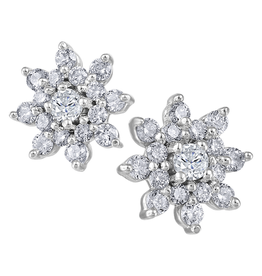 White Gold (0.40ct) Canadian Diamond Earrings