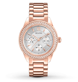 Bulova Bulova 97N101 Women's Crystal Watch