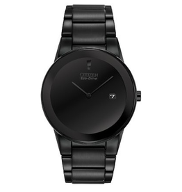 Citizen Citizen Axiom Men's Eco Drive Black Dial Black Tone Watch