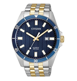 Citizen Citizen Mens Quartz Blue Dial Watch