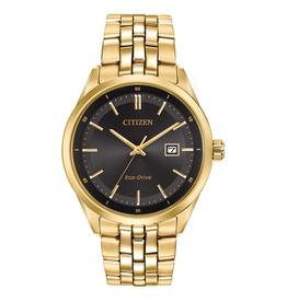 Citizen Citizen Corso Eco Drive Men's Gold Tone and Black Dial Watch