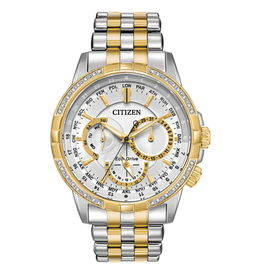 Citizen Citizen Calendrier Mens Eco Drive Diamond Bezel Watch