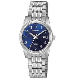 Citizen Ladies Quartz Blue Dial Watch