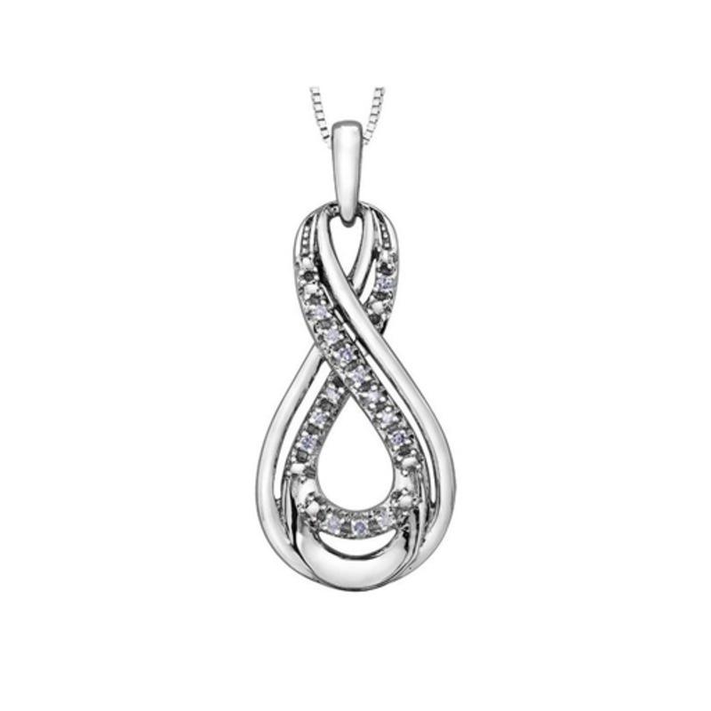Forever Jewellery Infinity Diamond Pendant