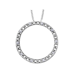 Forever Jewellery Circle of Life Diamond Pendant