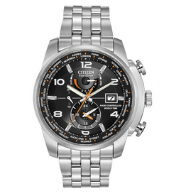 Citizen Citizen World Time Mens Eco Drive Watch AT9010-52E