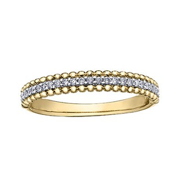 Yellow Gold (0.15ct) Diamond Ring