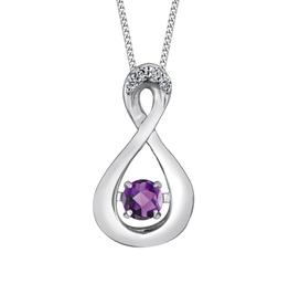 Amethyst & Diamonds